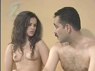 Beautiful Turkish Babe Loves Hardcore Action With Older Men